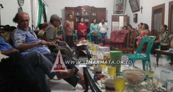 Silaturahmi Pengurus Punguan Simataraja Raja Simarmata Kota Medan di Kediaman Oscar Simarmata, SH