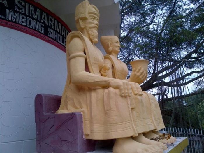 Simataraja dengan Lango Raja, Saing Raja dan Deak Raja