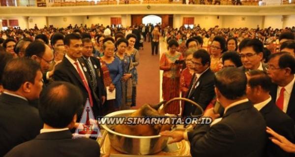Pesta Bonataon Pomparan Ompu Simataraja Se-DKI Jakarta Meriah