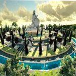 Bupati Samosir Dukung Pembangunan Tangga Haholongan dan Patung Tuhan Yesus di Pangururan