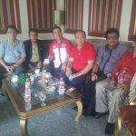 Pengurus DPP dan DPD Temu Ramah di Lobby Hotel Danau Toba Medan diawal Agustus tahun ini