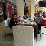Pengurus Simataraja Kota Medan, Forgemsi Indonesia foto bersama Mhd. Banjir Simarmata