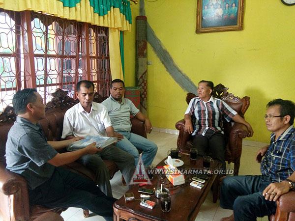 Panitia Mubes Sihar Simarmata Serahkan Undangan Dan Proposal Mubes Ke Pengurus Simataraja Pekanbaru