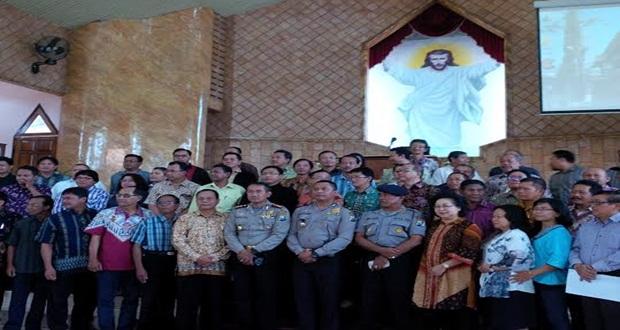 Peringati Kenaikan Yesus Kristus, 14 Gereja di Cikarang Dijaga Polisi