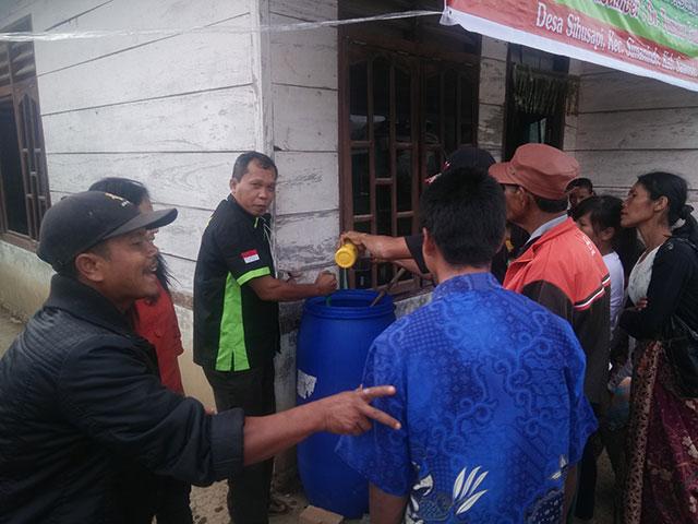 FORGEMSI Gandeng UNIMED dan IT DEL Lakukan Pelatihan Pembuatan Pupuk Organik di Desa Sihusapi