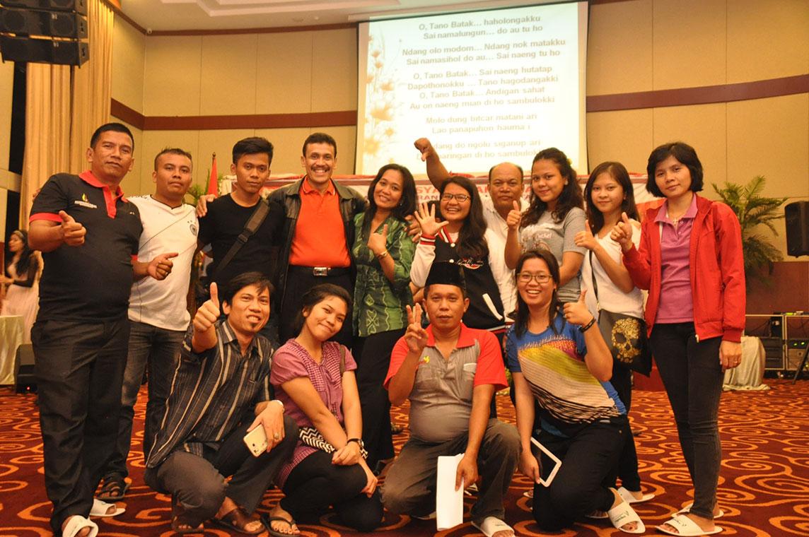 Kebersamaan Generasi Muda Simataraja dengan Ketua Umum Punguan Simataraja