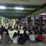 Diskusi Naposo Bulung Simarmata disaat latihan Tor-Tor di FE UKI Jakarta Timur