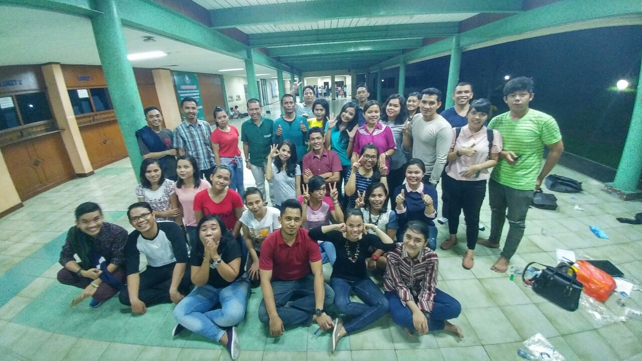 Razat Simarmata, Sekjen Punguan Simataraja Se Indonesia Sambangi Naposo di Cawang UKI
