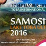 Tak berhenti berinovasi, Kementerian Pariwisata bersama Pemerintah Daerah Kabupaten Samosir menantang anda untuk berlari melintasi hijaunya alam Danau Toba