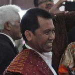 Ir. Razat Simarmata Ketua Steering Committee (SC) dan juga Sekretaris Jenderal Punguan Pomparan Ompu Simataraja Raja Simarmata dohot Boruna Se Indonesia