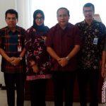 Wakil Walikota Samarinda Nusyirwan Ismail (tengah) di dampingi Brannch Manager Kepala Cabang PT Bank Tabungan Negera (BTN) Samarinda Porman Simarmata (Kedua dari Kanan. (Ist)