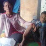 Hermina br Simarmata dan putranya Jhon Elvin Lingga.