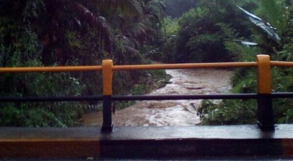 Rina Boru Simarmata Terhanyut, Hujan Deras di Sibolangit