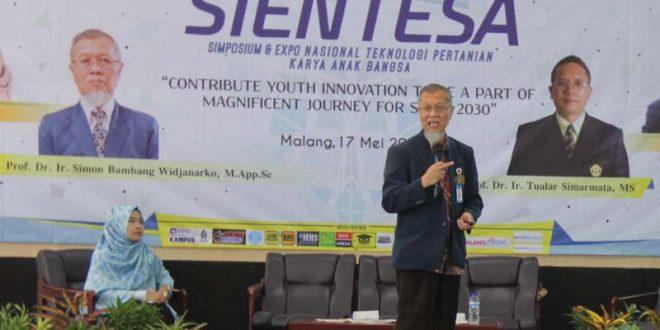 Jadi Pembicara di UB, Prof Tualar Simarmata Minta Inovasi Produk Indonesia Harus Ditingkatkan