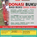 Leaflet Donasi Buku Untuk Simarmata