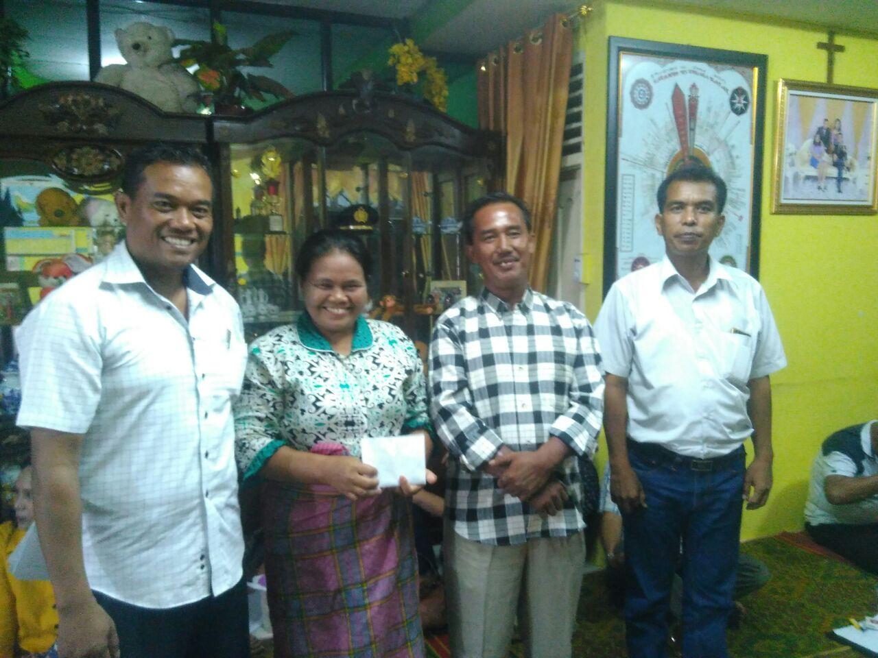 Kimson Simarmata Laporkan Pertanggungjawaban Pesta Syukuran, DPP Berikan Sumbangan Spontanitas Dana Bantuan Pendidikan