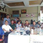 Pdt. WTP Simarmata bersama Keluarga Besar Simarmata Kota Medan